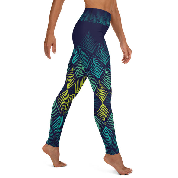 La Ilusión High-Waist Dance Leggings - Infinity Dance Clothing