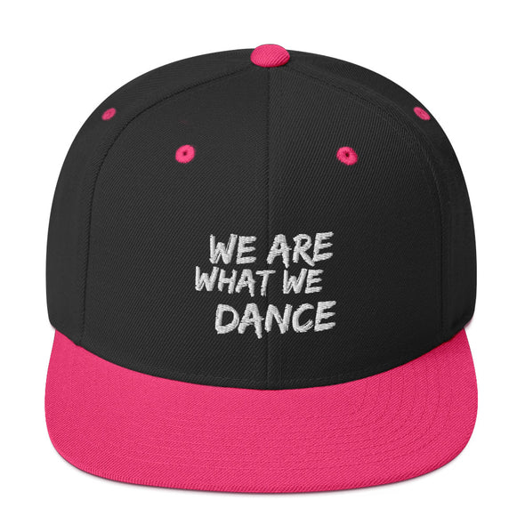 We Are What We Dance Snapback Cap - Infinity Dance Clothing