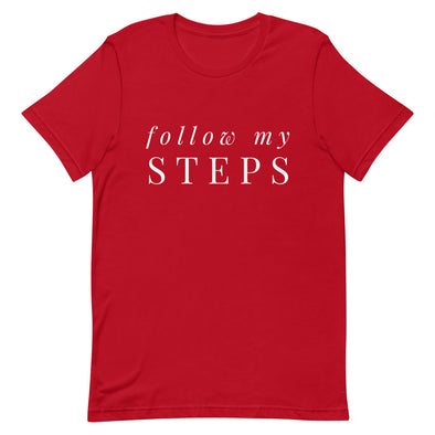 Follow My Steps Men's Tee - Infinity Dance Clothing