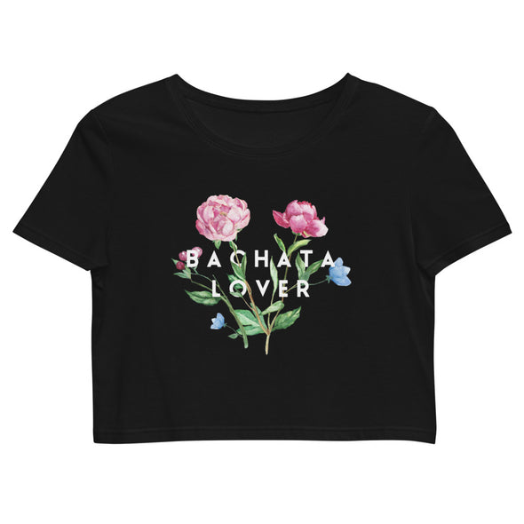 Bachata Lover Organic Dance Crop Top