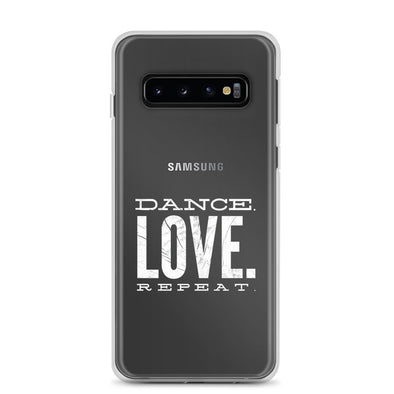 Dance. Love. Repeat. Samsung Phone Case-Phone Cases-Infinity Dance Clothing