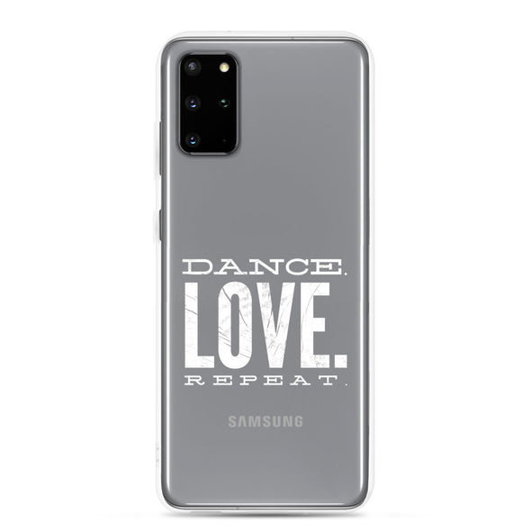 Dance. Love. Repeat. Samsung Phone Case