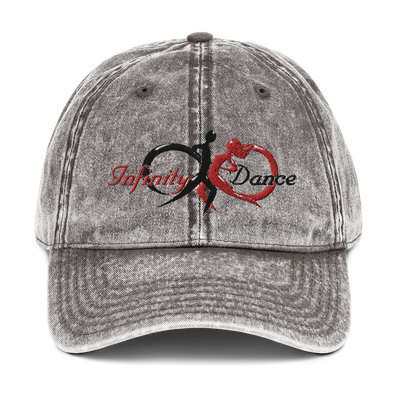 Infinity Dance Vintage Cotton Twill Cap - Infinity Dance Clothing