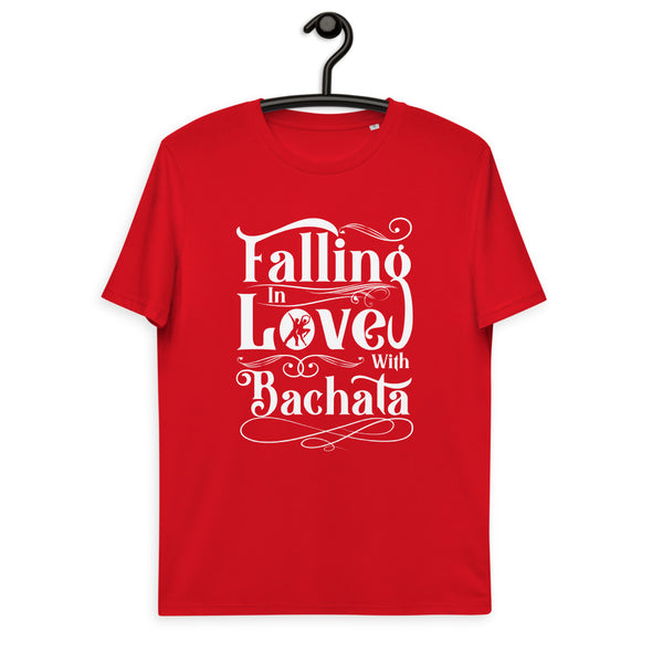 Falling In Love With Bachata Organic Cotton Tee-Shirts-Infinity Dance Clothing