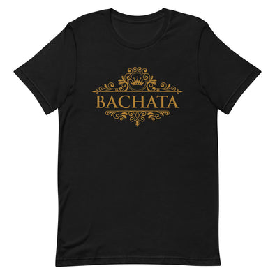 Bachata Gold Men's Tee-Shirts-Infinity Dance Clothing
