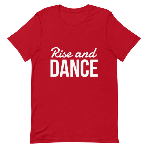 Rise And Dance Men's Tee - Infinity Dance Clothing