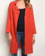 Load image into Gallery viewer, RED CARDIGAN