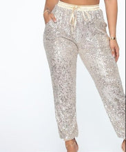 Load image into Gallery viewer, Sequin Joggers