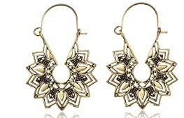 Drop Floral Dangle Earrings for Women