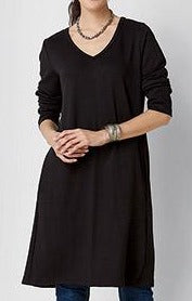 Black Tunic Long Sleeve