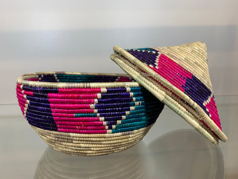 Handwoven Storage Basket Decorative