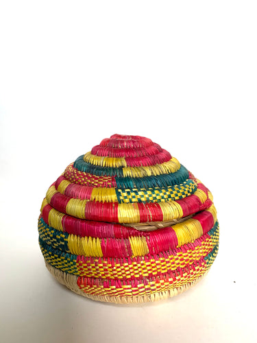 Handwoven Basket Decorative Muday Storage
