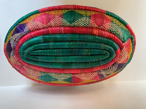 Handwoven Storage Basket Decorative Muday