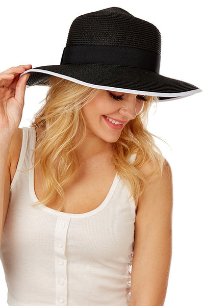 Straw Solid Summer Hat