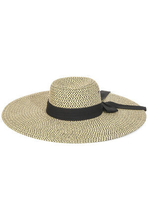 Oversized Floppy Straw Braided Fashion Sun Hat