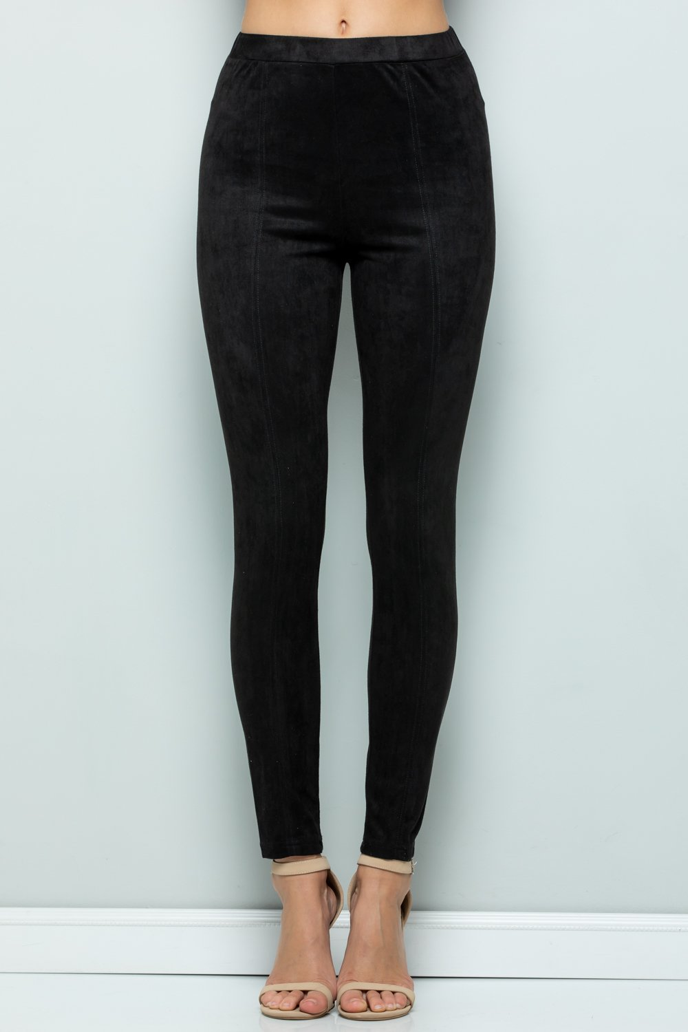 Stretchy Suede Pants Comfortable