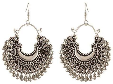 Fashion Oxidized Earrings Women