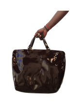 Load image into Gallery viewer, Genuine Large Leather Tote Bag