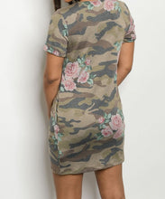 Load image into Gallery viewer, Camouflage dress