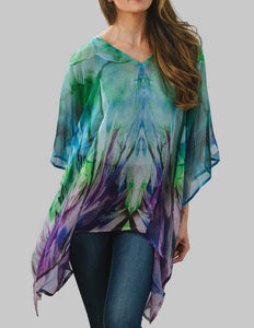Beach Cover Up Poncho