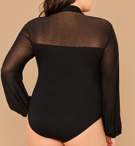 Plus Size Bodysuit
