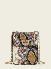 Load image into Gallery viewer, Snake Print Crossbody Bag