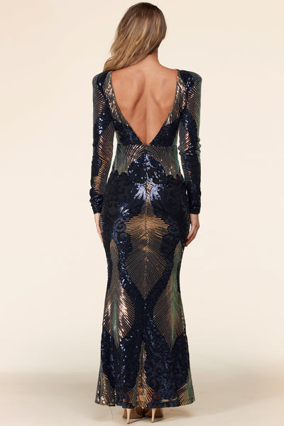Fantasy Sequin evening dress