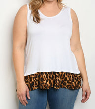 Load image into Gallery viewer, Sleeveless Top Plus Size