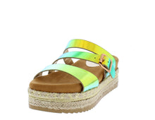 Load image into Gallery viewer, Platform Espadrille Wedge Open Toe