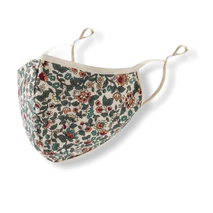 Floral Pattern Face Mask