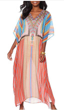 Load image into Gallery viewer, Caftan Cover Up Beach Wear