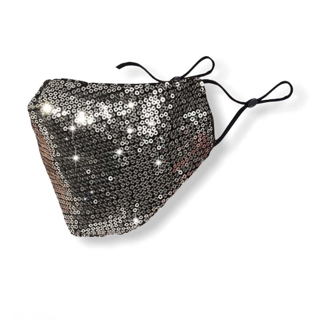Sequin Women Face Mask