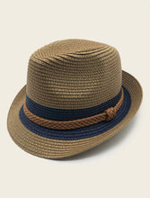 Load image into Gallery viewer, Men Straw Hat