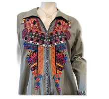 Load image into Gallery viewer, Embroidered Tunic