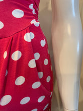 Load image into Gallery viewer, Fuchsia Polka Dot Jumpsuit