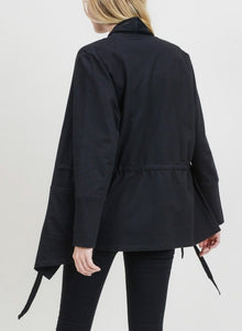 Women's Cotton French Terry Coat