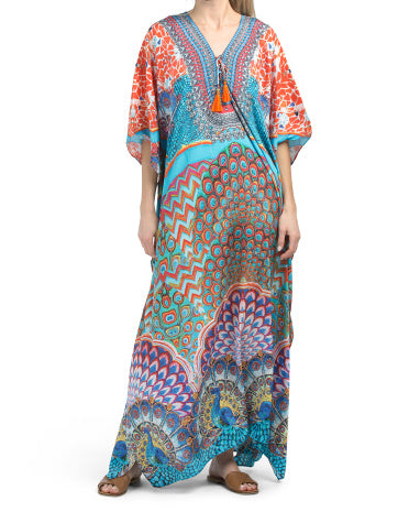 Maxi Kaftan cover up