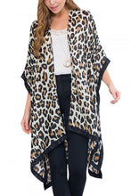 Load image into Gallery viewer, Leopard Print Kimono