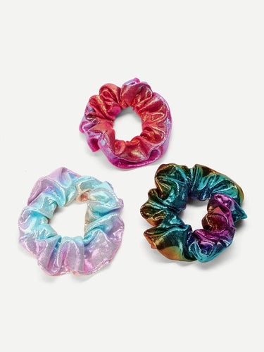 Iridescent Hair Tie 3pcs
