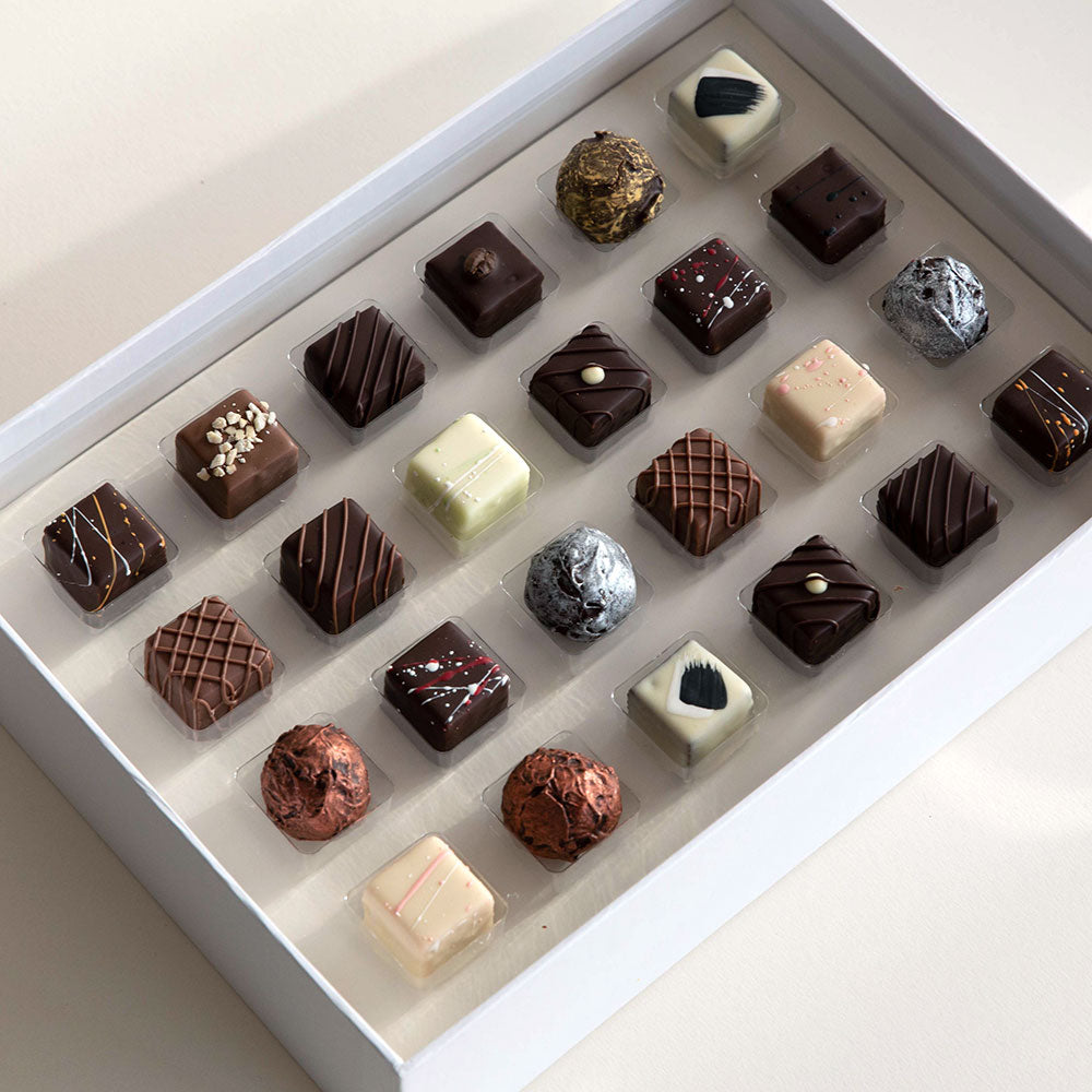 24 Piece Liqueur Truffle Selection