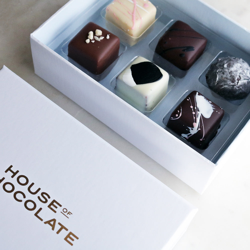 6 Piece Liqueur Truffle Selection