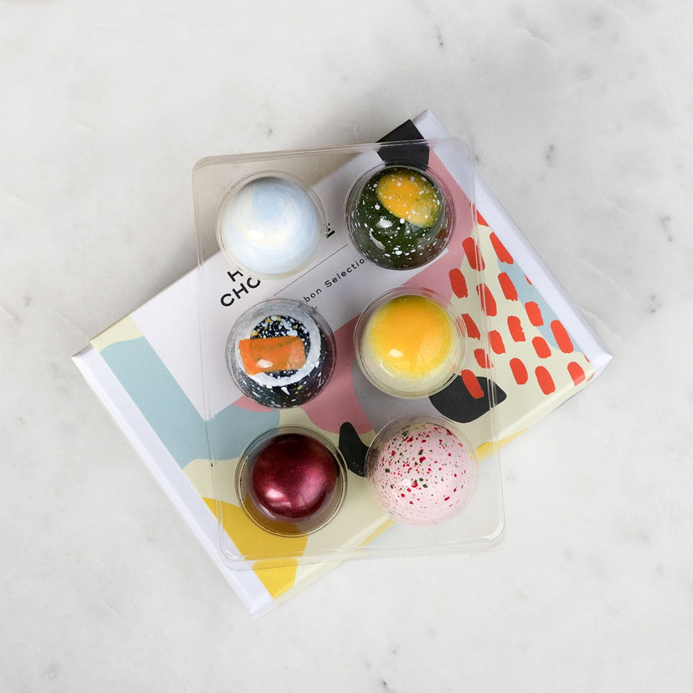 Mixed Fruit & 6 Piece Box Gift Duo