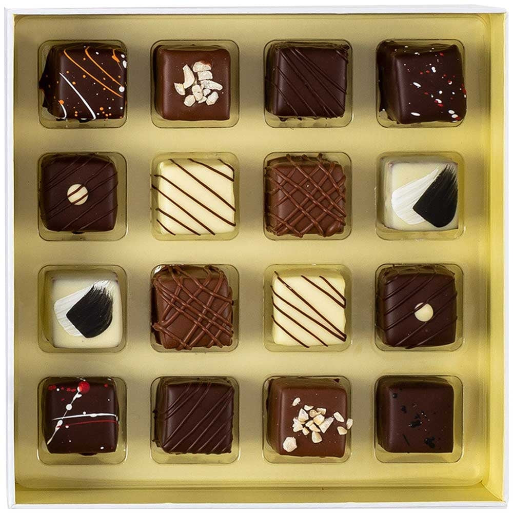 16 Piece Liqueur Truffle Selection