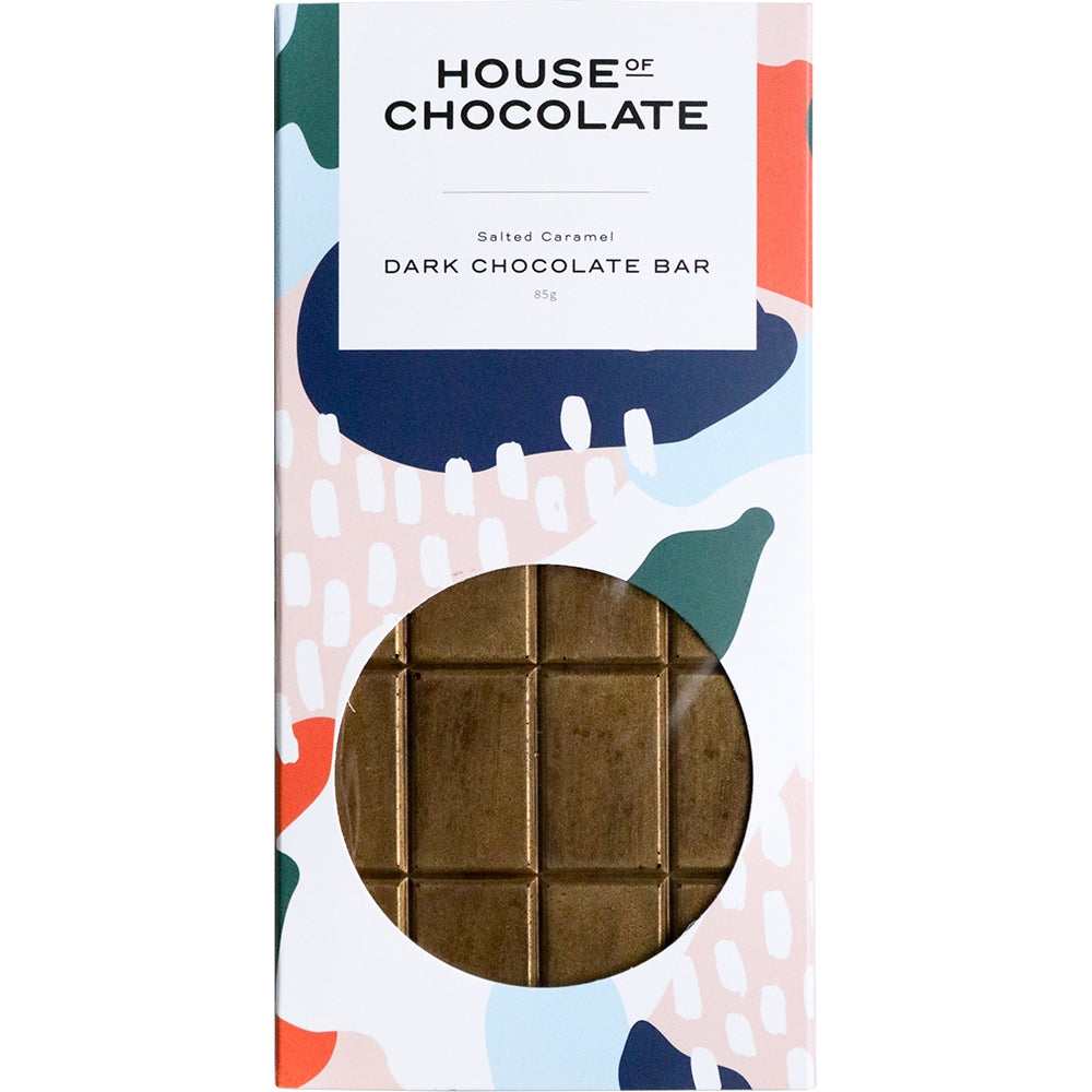 Liquid Salted Caramel Dark Chocolate Bar