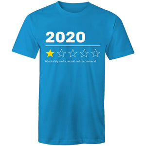 2020 year review, would not recommend (Mens S - 5XL)