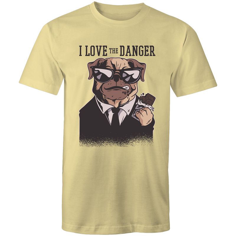 Dog loves danger (Mens S - XL)
