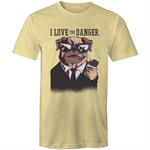 Load image into Gallery viewer, Dog loves danger (Mens S - XL)