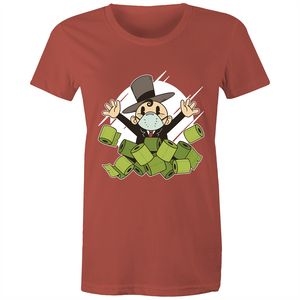 Rich with toilet paper (Womens XS - 2XL)