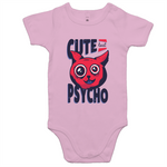 Load image into Gallery viewer, Cute but psycho (Baby Onesie Romper)