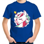 Load image into Gallery viewer, Cute Christmas unicorn (Childrens 2 - 14)